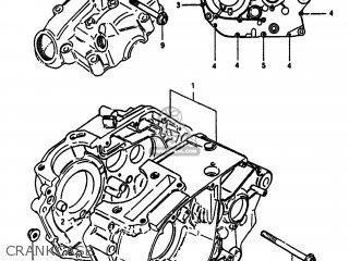Suzuki Sp100 1983 (d) Usa (e03) parts list partsmanual
