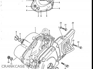 Suzuki SP200 1986 (G) USA (E03) parts lists and schematics