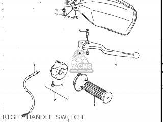 Suzuki SP200 1986 (G) USA (E03) parts lists and schematics