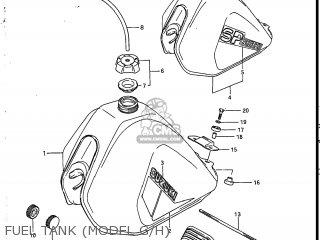 Suzuki SP200 1987 (H) USA (E03) parts lists and schematics