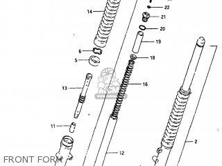 Suzuki SP250 1982 (Z) USA (E03) parts lists and schematics
