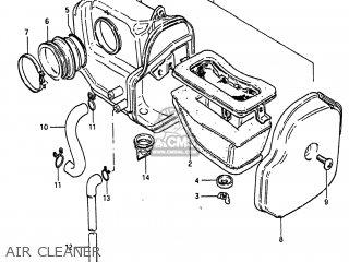 Suzuki SP250 1983 (D) USA (E03) parts lists and schematics