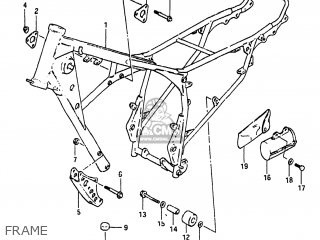 Suzuki SP250 1983 (D) USA (E03) parts lists and schematics