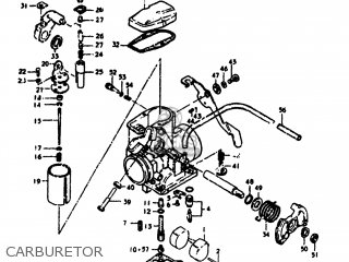 Suzuki SP370 1979 (N) USA (E03) parts lists and schematics