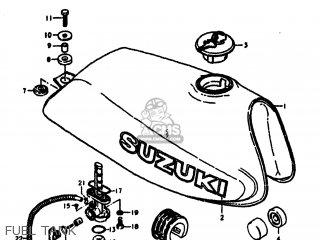 Suzuki SP370 1979 (N) USA (E03) parts lists and schematics