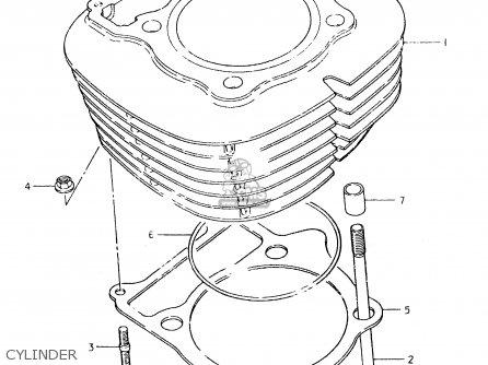 Suzuki SP400 1980 (T) (01 02 04 E06 E15 E16 E17 E21 E24