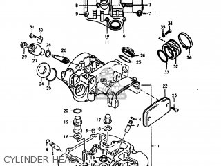 Suzuki SP400 1980 (T) USA (E03) parts lists and schematics