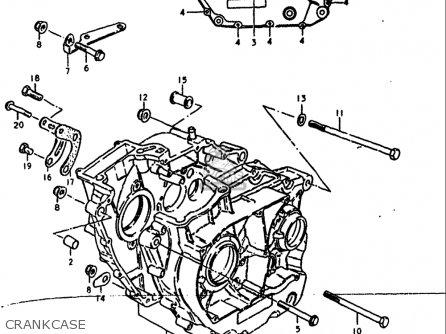 Suzuki Sp400 1980 (usa) parts list partsmanual partsfiche