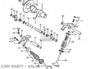 Suzuki Sp600 1985 (f) Usa (e03) parts list partsmanual
