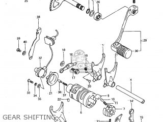 Suzuki Sp600 1985 (f) Usa (e03) parts list partsmanual