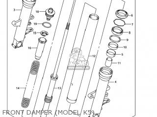 Suzuki Sv1000 2003 (k3) Usa (e03) parts list partsmanual