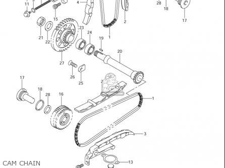 Suzuki Sv1000 ,s 2003-2005 (usa) parts list partsmanual