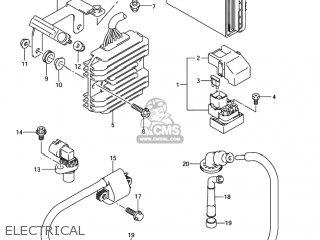 Suzuki Sv1000s 2003 (k3) Usa (e03) parts list partsmanual