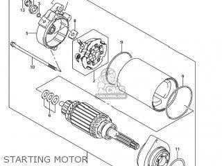 Suzuki SV1000S 2005 (K5) USA (E03) parts lists and schematics