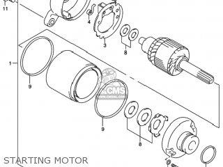 Suzuki Sv650 1999 (x) Usa (e03) parts list partsmanual