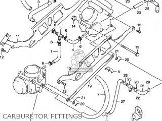 Suzuki Sv650 2001 (k1) Usa (e03) parts list partsmanual
