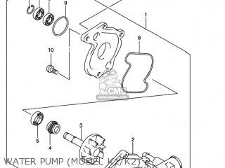 Suzuki SV650 2002 (K2) USA (E03) parts lists and schematics