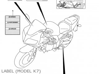 Suzuki Sv650 2003 (k3) Usa (e03) parts list partsmanual