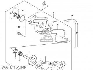 Suzuki SV650 2003 (K3) USA (E03) parts lists and schematics