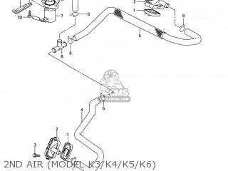 Suzuki Sv650 2004 (k4) Usa (e03) parts list partsmanual