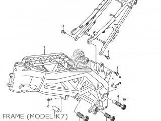 Suzuki SV650 2005 (K5) USA (E03) parts lists and schematics