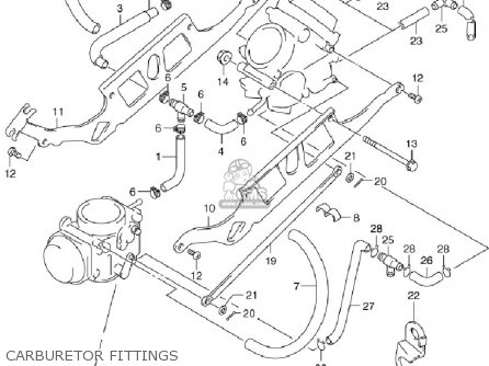 Suzuki Sv650 ,s 1999-2002 (usa) parts list partsmanual
