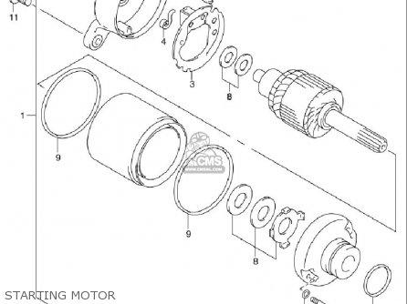 Suzuki Sv650 ,s 1999-2002 (usa) parts list partsmanual partsfiche