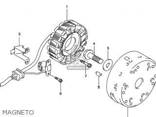 Suzuki SV650S 2000 (Y) USA (E03) parts lists and schematics