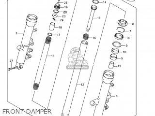 Suzuki SV650S 2005 (K5) USA (E03) parts lists and schematics