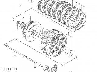 Suzuki SV650S 2007 (K7) USA (E03) parts lists and schematics