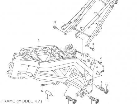 Suzuki Sv650 ,s,a (usa) parts list partsmanual partsfiche