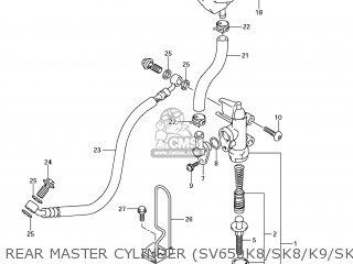Suzuki SV650SF 2009 (K9) USA (E03) parts lists and schematics