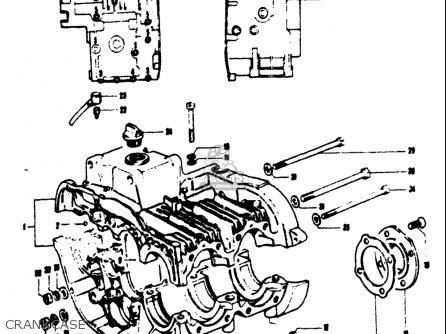 Suzuki T125ii 1971 (r) Usa parts list partsmanual partsfiche