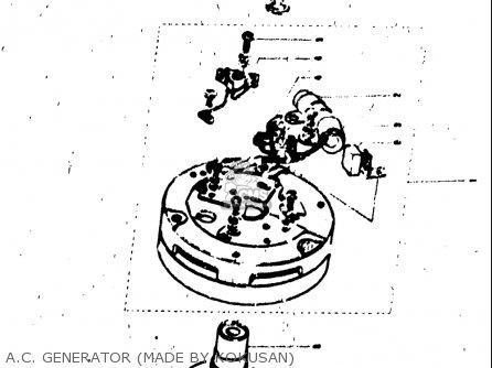 Suzuki T125II 1971 (R) USA (E03) parts lists and schematics