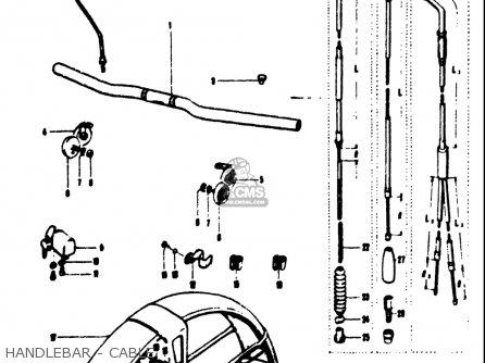 Suzuki T125ii 1971 (r) Usa (e03) parts list partsmanual