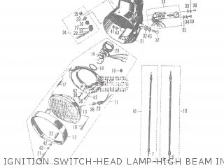 Suzuki T20 TC250 SCRAMBLER 1965-1969 GENERAL EXPORT parts