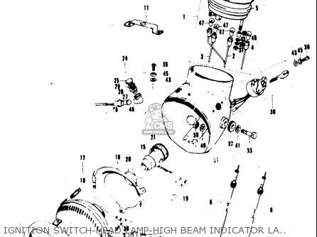 Suzuki T20 TC250 SCRAMBLER 1969 USA (E03) parts lists and