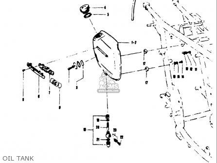 Suzuki T250 Ii,rj 1972 (usa) parts list partsmanual partsfiche