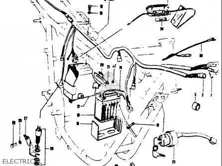 Suzuki T250iir 1972 (j) Usa (e03) parts list partsmanual