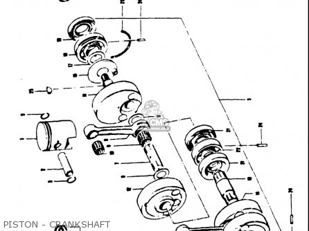 Suzuki T250IIR 1972 (J) USA (E03) parts lists and schematics