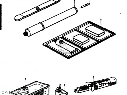 Suzuki T305 Tc305 1969 (usa) parts list partsmanual partsfiche