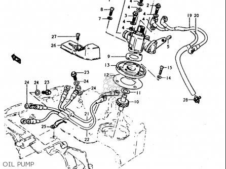 Suzuki T350 1,2,r,j 1969-1972 (usa) parts list partsmanual