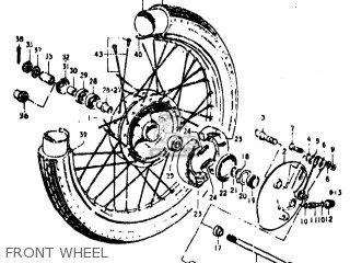 Suzuki TC100 1973 (K) USA (E03) parts lists and schematics