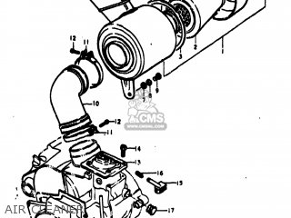 Suzuki TC100 1974 (L) USA (E03) parts lists and schematics