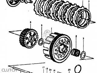 Suzuki TC100 1974 (L) USA (E03) parts lists and schematics