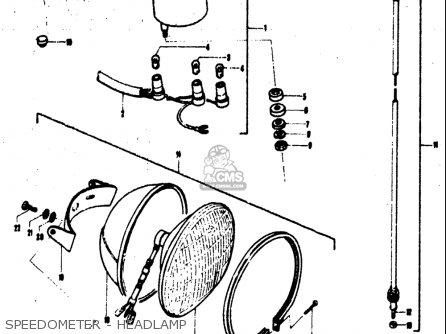 Suzuki Tc120 1971 (usa) parts list partsmanual partsfiche