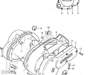 Suzuki TC125 1974 (L) USA (E03) parts lists and schematics