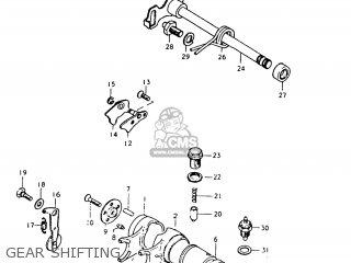 Suzuki Tc125 1975 (m) Usa (e03) parts list partsmanual