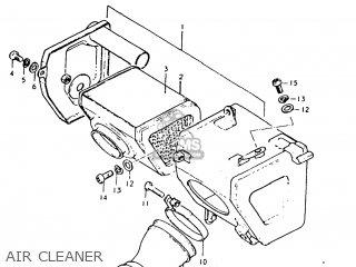 Suzuki Tc125 1976 (a) Usa (e03) parts list partsmanual