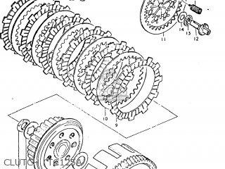 Suzuki TC125 1977 (B) USA (E03) parts lists and schematics